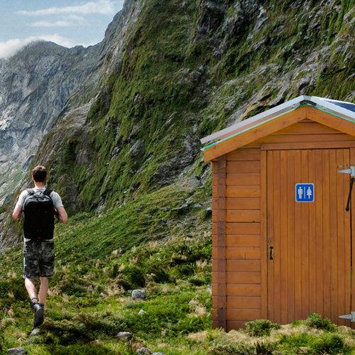 Smart sensor control of remote toilets