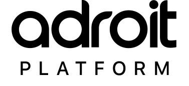 Adroit IOT platform logo