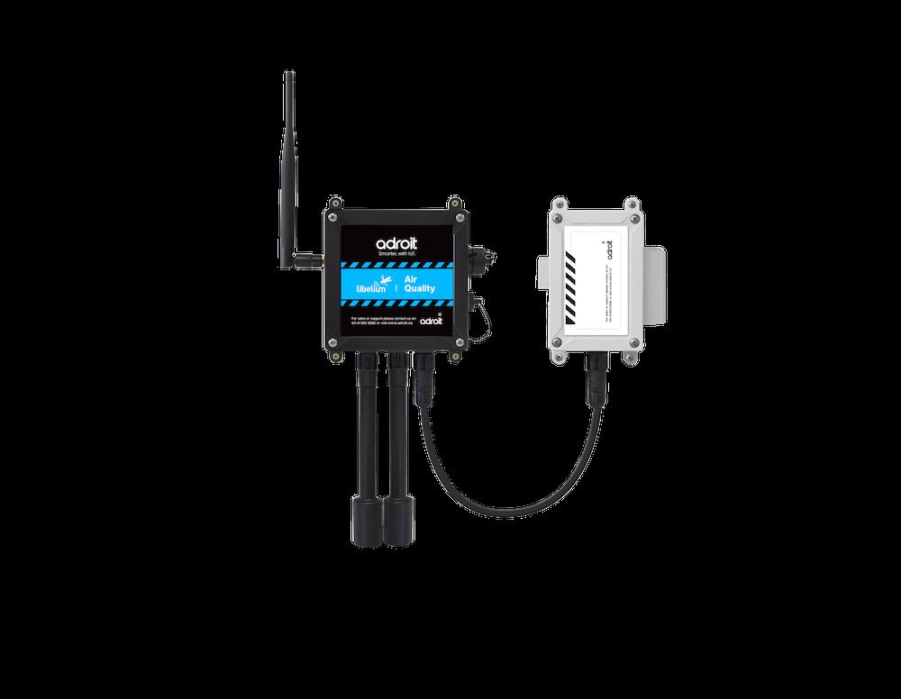 Air quality dust sensor components