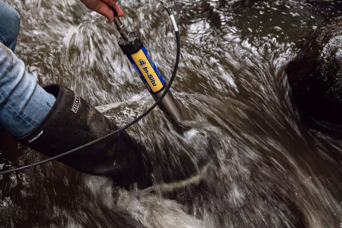 Monitoring river nitrates